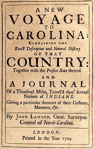 Lawson, John (1674-1711)