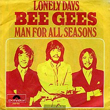 Bee Gees — Lonely Days (studio acapella)