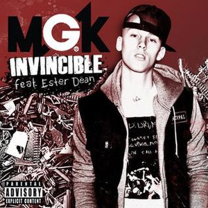 Invincible (Machine Gun Kelly song) - Image: MGK Invincible