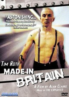 <i>Made in Britain</i> 1982 British film directed by Alan Clarke