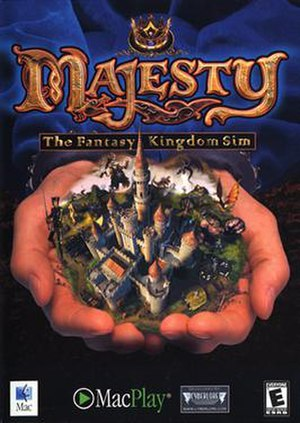 Majesty: The Fantasy Kingdom Sim - Image: Majesty mac boxart