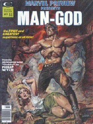 Marvel Preview - Image: Man God