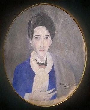 Jean Cocteau - Marie Laurencin, Portrait de Jean Cocteau, 1921