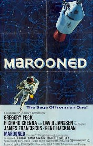 Marooned (1969 film) - Theatrical release poster