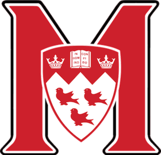 McGill Redmen and Martlets - Image: Mc Gill Redmen Logo