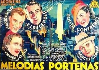 Melodías porteñas - Image: Melodias portenas