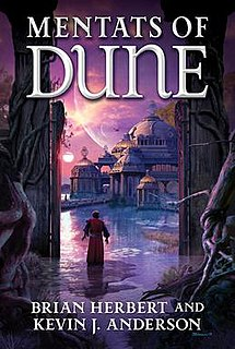 <i>Mentats of Dune</i> 2014 science fiction novel