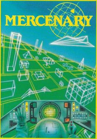 Mercenary (video game) - Image: Mercenary amstrad version cover