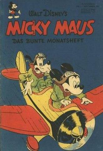 Micky Maus - Image: Micky Maus nr 1 cover