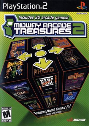 Midway Arcade Treasures 2 - Image: Midway Arcade Treasures 2 Coverart