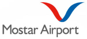 Mostar Airport - Image: Mostar International Airport (logo)
