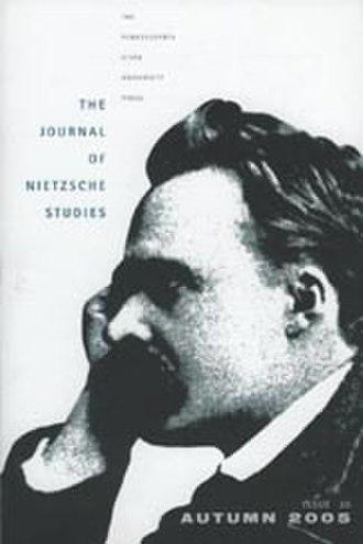 The Journal of Nietzsche Studies - Image: NIETZCHE2005i 30