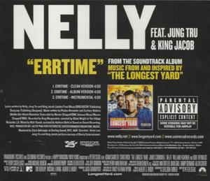 Errtime - Image: Nelly Errtime single