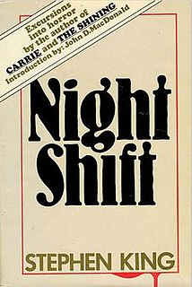 <i>Night Shift</i> (short story collection) book