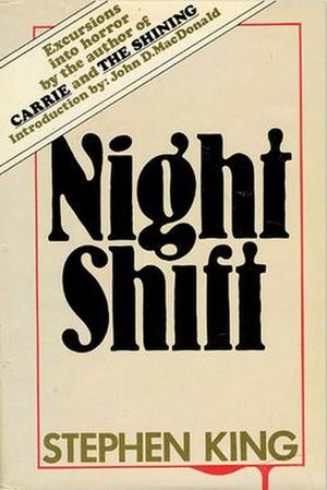 Night Shift (short story collection) - First edition cover