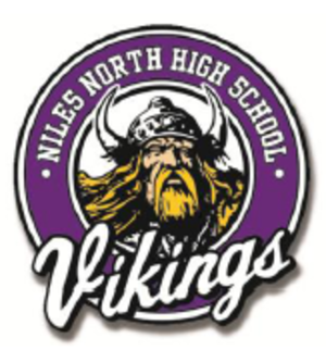 Niles North High School - Image: Nnhsviking 1
