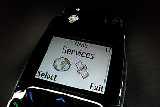 Super-twisted nematic display - A 12 bit CSTN in a Nokia 3510i phone