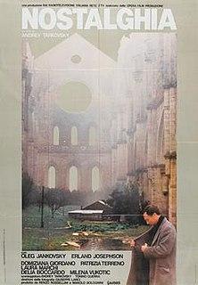 <i>Nostalghia</i> 1983 film by Andrei Tarkovsky