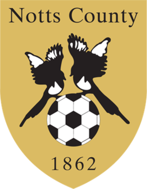 Notts County F.C. - Logo used until 2009