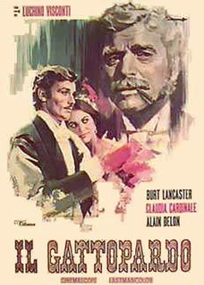 <i>The Leopard</i> (1963 film) 1963 historical drama film by Luchino Visconti