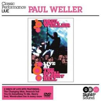 Live at the Royal Albert Hall (Paul Weller album) - Image: Paul Weller Royal Albert Hall