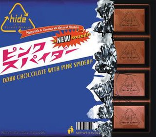 Pink Spider 1998 single by hide with Spread Beaver