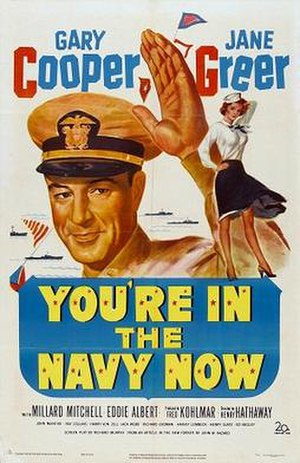 You're in the Navy Now - Theatrical poster