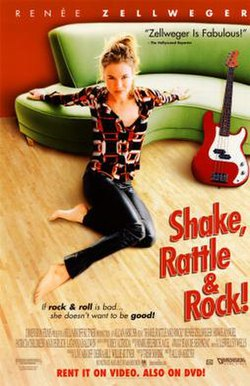 Poster of the 1994 movie Shake, Rattle & Rock!.jpg