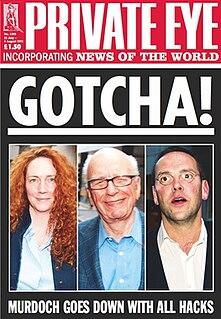 <i>Private Eye</i> British satirical and current affairs magazine
