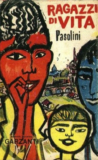 Ragazzi di vita - The cover of Ragazzi di vita