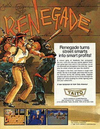 Renegade (video game) - Renegade