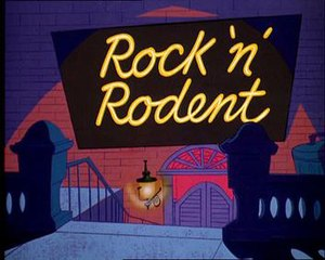 Rock 'n' Rodent - Title card of Rock 'n' Rodent
