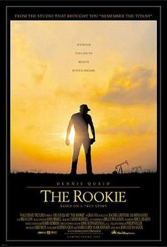 The Rookie (2002 film) - Theatrical release poster