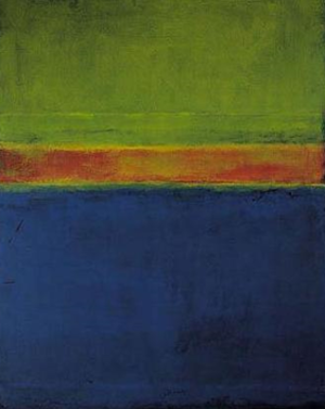 Mark Rothko, No. 2, Blue Red Green, 1953, oil ...