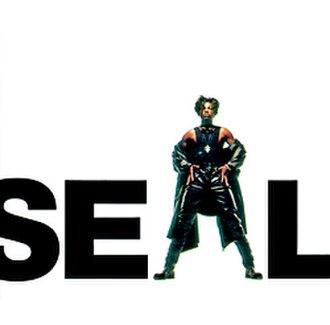 Seal (1991 album) - Image: Seal Seal (1991 first album) CD album cover