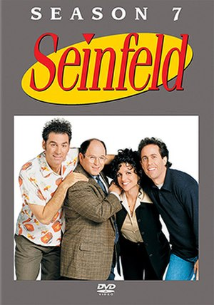 Seinfeld (season 7) - DVD cover
