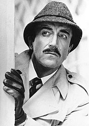 Peter Sellers as Inspector Clouseau in the Pink Panther movies