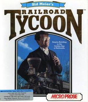 Railroad Tycoon - Image: Sid Meier's Railroad Tycoon