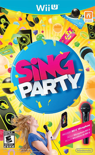 <i>Sing Party</i> 2012 video game