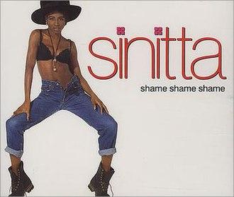 Shame, Shame, Shame (Shirley & Company song) - Image: Sinitta Shame
