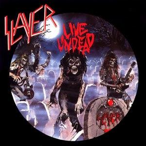 Live Undead - Image: Slayer Live Undead