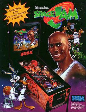 Space Jam (pinball) - Image: Space Jam pinball