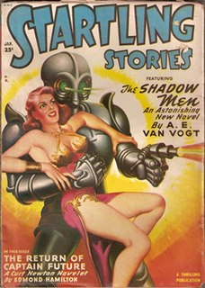 <i>Startling Stories</i> US science fiction magazine
