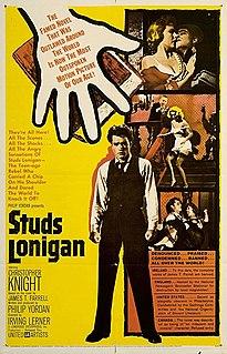<i>Studs Lonigan</i> novel trilogy by James T. Farrell