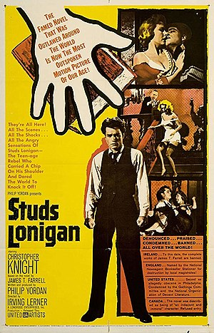 Studs Lonigan - Image: Studs Lonigan poster