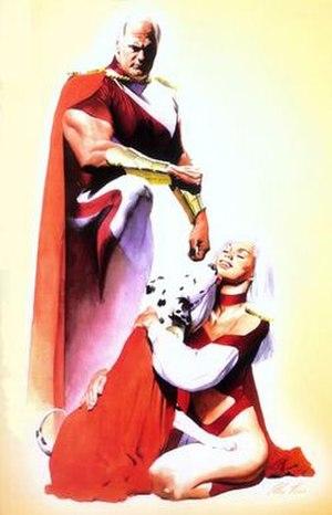 Supreme (comics) - Image: Supreme Family