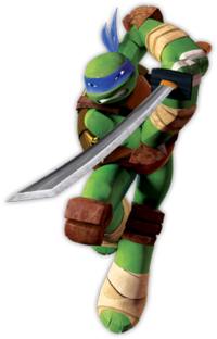 Ninja Turtle Leonardo Face Paint