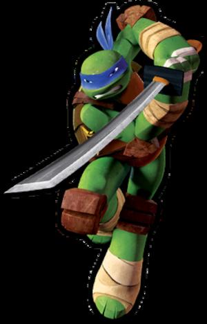 Leonardo (Teenage Mutant Ninja Turtles) - Leonardo, as depicted in the 2012 Nickelodeon series