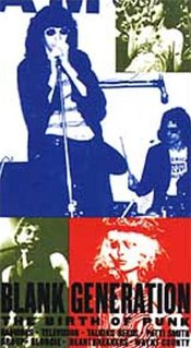 <i>The Blank Generation</i> 1976 film by Amos Poe, Ivan Kral