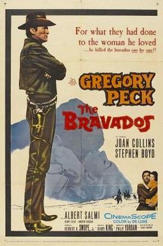 The Bravados - Theatrical release poster